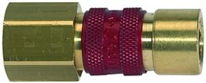 ID: 107639 - Unverwechselbare Schnellverschlusskupplung NW 5, G 1/8 IG, rot