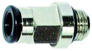ID: 115920 - Gerade Einschraubverschraubung »value line«, G 1/8 a., MS v. Ø4mm