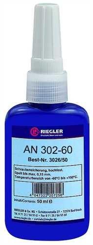 ID: 114556 - RIEGLER Lock AN 302-60, anaerober Klebstoff, hochfest, 50 ml