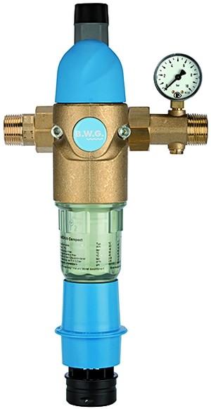 Rückspülfilter mit Druckregler, DVGW-geprüft, R 1