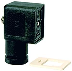 ID: 100409 - Gerätestecker Form B nach EN 175301-803, Kabelanschluss PG 9