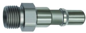 ID: 141991 - Nippel für Kupplungen NW 11, ISO 6150 C, Edelstahl, G 3/8 AG