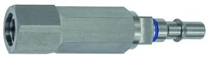ID: 141920 - Unverwechselbarer Nippel NW 6, ISO 6150 C, RSV, G 3/8 IG, blau
