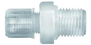 ID: 110901 - Gerade Einschraubverschraubung G 1/8 a., für Schlauch 6/8 mm, PFA