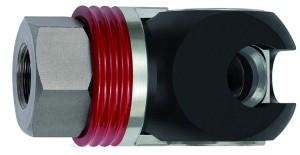ID: 141708 - Schwenk-Sicherheitskupplung NW 11, ISO 6150 C, Stahl, G 3/8 IG