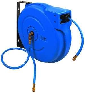 ID: 113969 - Schlauchaufroller, Druckluft/Wasser, PVC-Schl. ø12x6, R 1/4, 15 m
