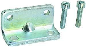 ID: 106124 - Fußbefestigung, ISO 21287, für Kompaktzylinder, Kolben-Ø 25
