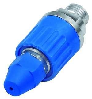 ID: 114367 - Druckregulierdüse, Anschluss M12x1,25, Aluminium / POM