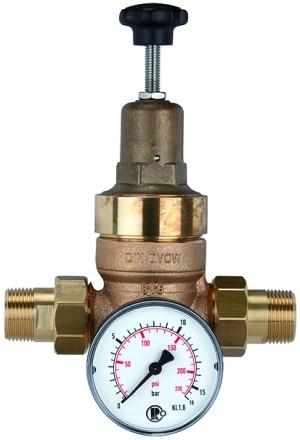 Druckregler für Trinkwasser, ohne DVGW, R 3/4, 1,5