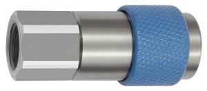 ID: 141885 - Unv. Dreh-Sicherheitskupplung NW 6, ISO 6150 C, G 1/4 IG, blau