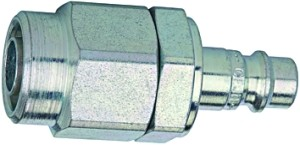 ID: 107384 - Nippel, NW7,2-NW7,8, »stream line«, Stahl gehärtet/verz., 10x6,5