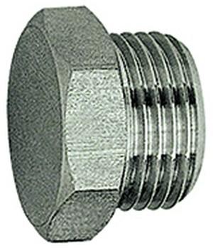 ID: 111661 - Verschlussschraube, Außensechskant, G 1/8, SW 13, ES 1.4571