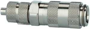 ID: 107115 - Schnellverschlusskupplung NW 2,7, ES 1.4404, Schlauchanschl. 6x4