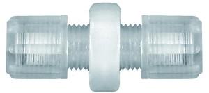 ID: 110928 - Gerade Schlauchverbindung, für Schlauch 6/8 mm, SW 19, PFA