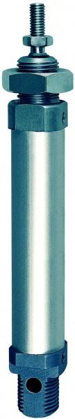 ID: 105753 - Rundzylinder, doppeltwirkend, Magnet, Kolben-Ø 8, Hub 25, M5