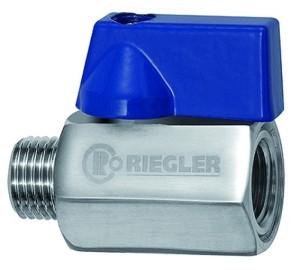 ID: 103493 - Mini-Kugelhahn, Edelstahl 1.4401, IG/AG, G 3/8, DN 7