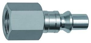 ID: 141617 - Nippel für Kupplungen NW 5,5, ARO 210, Stahl, NPT 1/4 IG