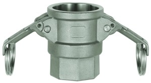 ID: 108119 - Kamlok-Schnellkupplungsdose mit IG, Typ D, ES 1.4401, G 2
