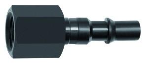 ID: 141646 - Nippel für Kupplungen NW 6, ISO 6150 C, Stahl, NPT 1/4 IG