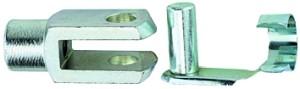 ID: 105844 - Gabelkopf, für Rundzylinder ISO 6432 (nicht TP), Kolben-Ø 8-10