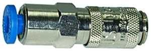 ID: 107096 - Schnellverschlusskupplung NW 2,7 MS vern., push-in Anschluss 4 mm