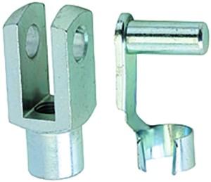 ID: 106275 - Gabelkopf, für Normzylinder, Kolben-Ø 80-100, Federklappbolzen