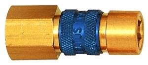 ID: 107632 - Unverwechselbare Schnellverschlusskupplung NW 5, G 1/4 IG, braun