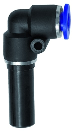 ID: 125731 - L-Steckverbindung, Stecknippel 10 mm »Blaue Serie«, Schl.-Ø10, KS
