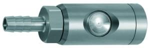ID: 107587 - Druckknopf-Sicherheitskupplung NW 7,4, drehbar, ES, Tülle LW 9