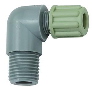 ID: 110804 - Winkel-Einschraubverschraubung G 3/8 a., für Schlauch 6/8 mm, PA