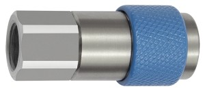ID: 141886 - Unv. Dreh-Sicherheitskupplung NW 6, ISO 6150 C, G 3/8 IG, blau