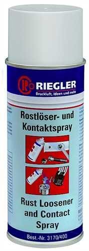 ID: 114571 - RIEGLER Rostlöser-und Kontaktspray, 400 ml