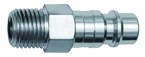 ID: 141671 - Nippel für Kupplungen NW 7,2, Stahl, NPT 3/8 AG