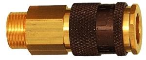 ID: 107665 - Unverwechselbare Schnellverschlusskupplung NW 7,8, G 1/4 AG braun