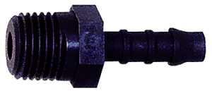 ID: 110950 - Gerader Einschraubstutzen, R 1/4 a., für Schlauch LW 5 mm, PA 6