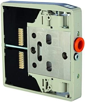 ID: 106695 - Zwischenplatte für Ventilinsel HDM, zusätzliche Zu- und Abluft