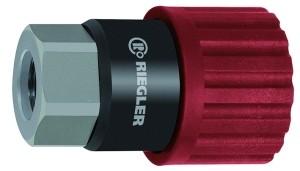 ID: 141738 - Dreh-Sicherheitskupplung NW 6, ISO 6150 C, Stahl, G 3/8 IG