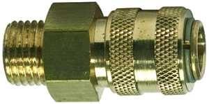 ID: 115624 - Schnellverschlusskupplung NW 5 »connect line«, MS blank, G 3/8 AG