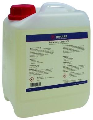 ID: 101135 - Pneumatik-Spezial-Öl, in Kanister 2,5 Liter, inkl. Karton u. Doku