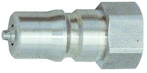 ID: 107708 - Verschlussnippel beidseitig absperr., ES 1.4305, G 1/8 IG, NW 4,3