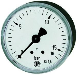 ID: 101731 - Standardmanometer KS-G., G 1/8 hinten zentrisch, 0 - 10,0 bar, Ø 40