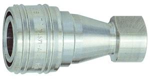 ID: 107704 - Hydraulikkupplung beidseitig absperr., ES 1.4305, G 1/4 IG NW 6,3