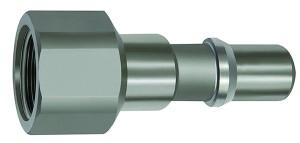 ID: 141989 - Nippel für Kupplungen NW 11, ISO 6150 C, Edelstahl, G 1/2 IG