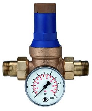Druckregler für Trinkwasser, DVGW-geprüft, R 1, 1,