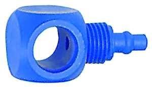 ID: 110761 - Einfach-Ringstutzen, für G 1/4, für Schlauch 6/4 mm, POM