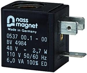 ID: 100738 - Magnetspule 110 V AC, 50 Hz, für Schaltventil (3/2-Wegeventil)
