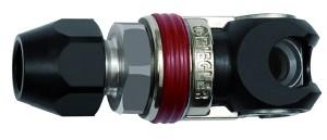 ID: 141637 - Schwenk-Sicherheitskupplung NW 6, ISO 6150 C, Stahl, Schl. 6,5x10