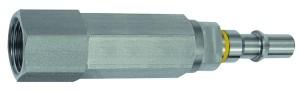 ID: 141905 - Unverwechselbarer Nippel NW 6, ISO 6150 C, RSV, G 1/4 IG, gelb