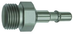 ID: 141946 - Nippel für Kupplungen NW 6, ISO 6150 C, Edelstahl, G 3/8 AG