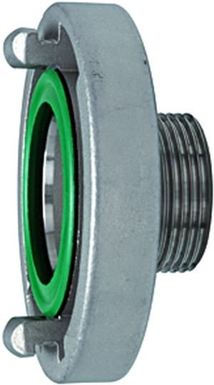 ID: 108316 - Storz-Festkupplung, Edelstahl V4A, Storz-Größe 65, G 2 1/2 AG